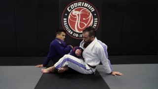 The French Girl – Newly Invented Ankle Lock From 50/50