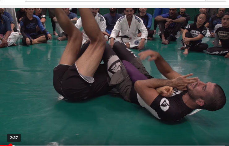 armbar mighty mouse
