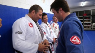 Chael Sonnen receives BJJ Brown Belt