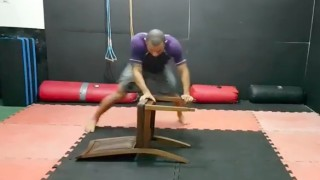BJJ Drills Using a Chair