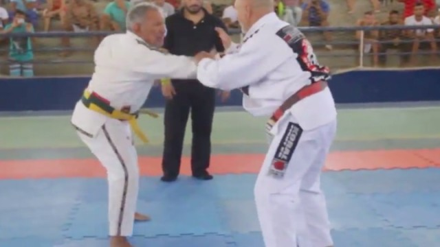 BJJ Coral Belts Have Action Packed Match