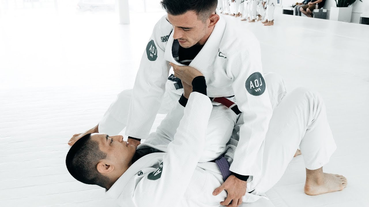 Elbow Control Armbar from Knee on Belly- Nick Bohli