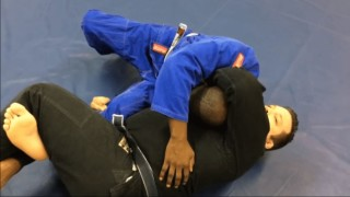 Godoi Loop Choke Against Butterfly Guard