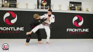 "How To Set Up Osoto Gari in BJJ ""Punch Sotogari""- Miha Perhavec"