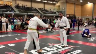 Karate Black Belt enters Black belt bracket in NAGA Grappling