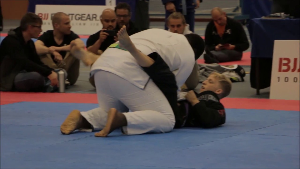 Purple Belt Subbed Black Belt Twice His Size In Jiu-Jitsu Tournament