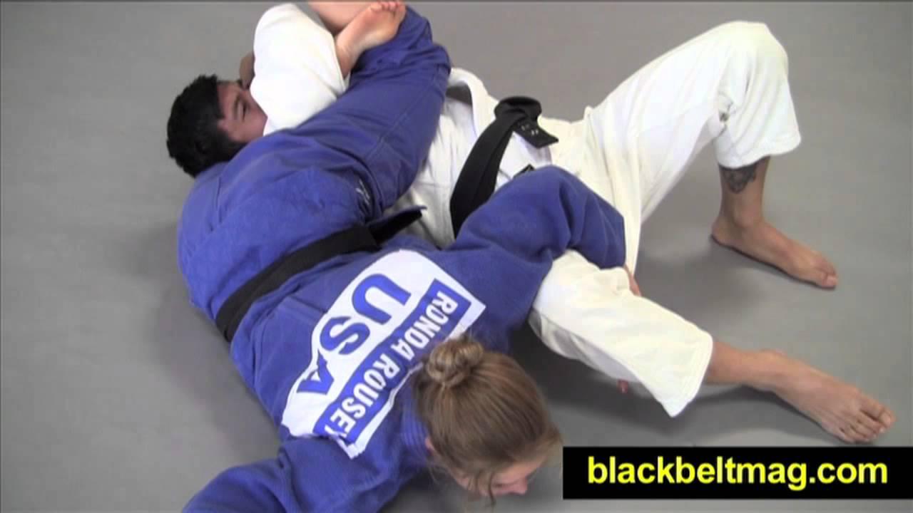 Ronda's Reverse Triangle (Sankaku Jime) Set Up
