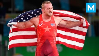 Wrestling Gold Medalist Kyle Snyder Strength & Conditioning Training HL