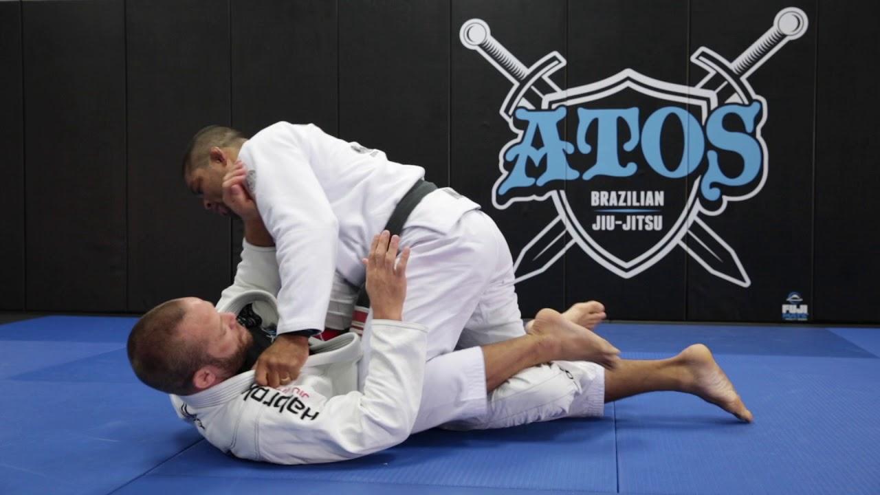 "Andre Galvao Shares ""Half guard Passing Secret"""