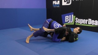 De La Riva Single Leg Wipe To Knee Bar Or Over Under Pass by Matheus Diniz