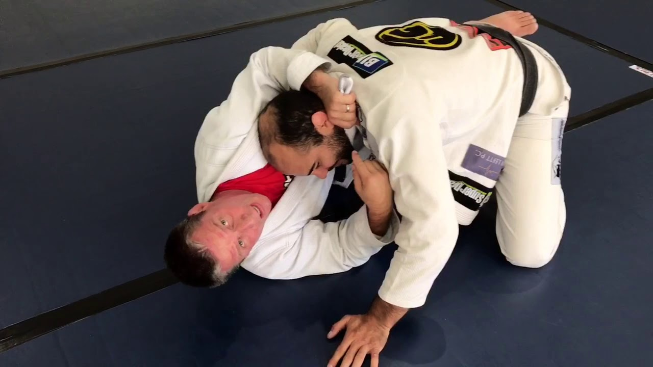 Different Lapel Choke From Knee Shields by Todd Williams