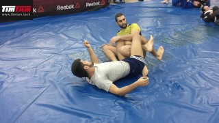 Leg Lock and Guard Pass Combination – Firas Zahabi