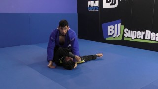 Matheus Diniz: Knee Cut Pass From Half Guard To Katagatame