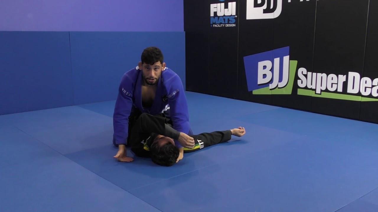Matheus Diniz: Knee Cut Pass From Half Guard To Katagatame