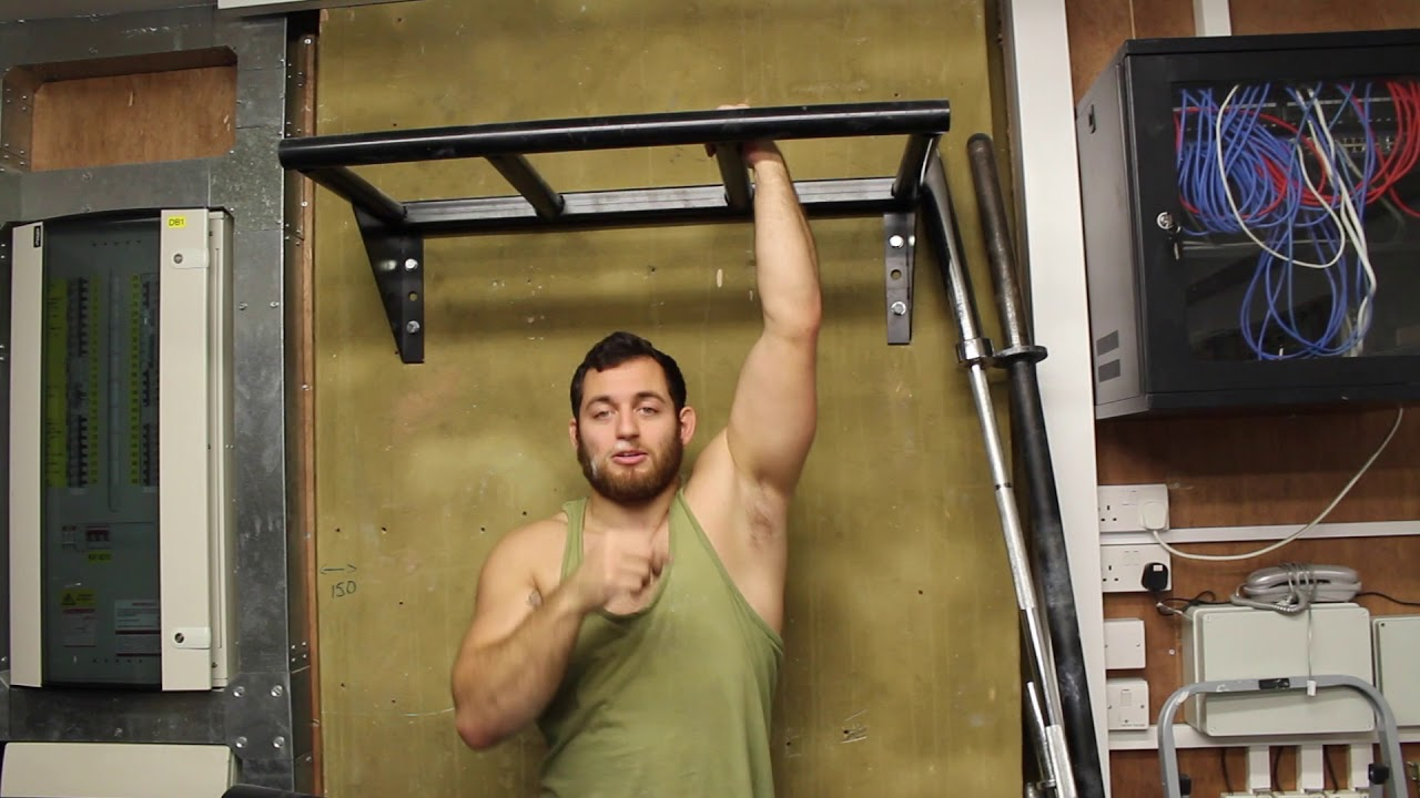 Pull Up Grip Variations For Grapplers- Dan Strauss
