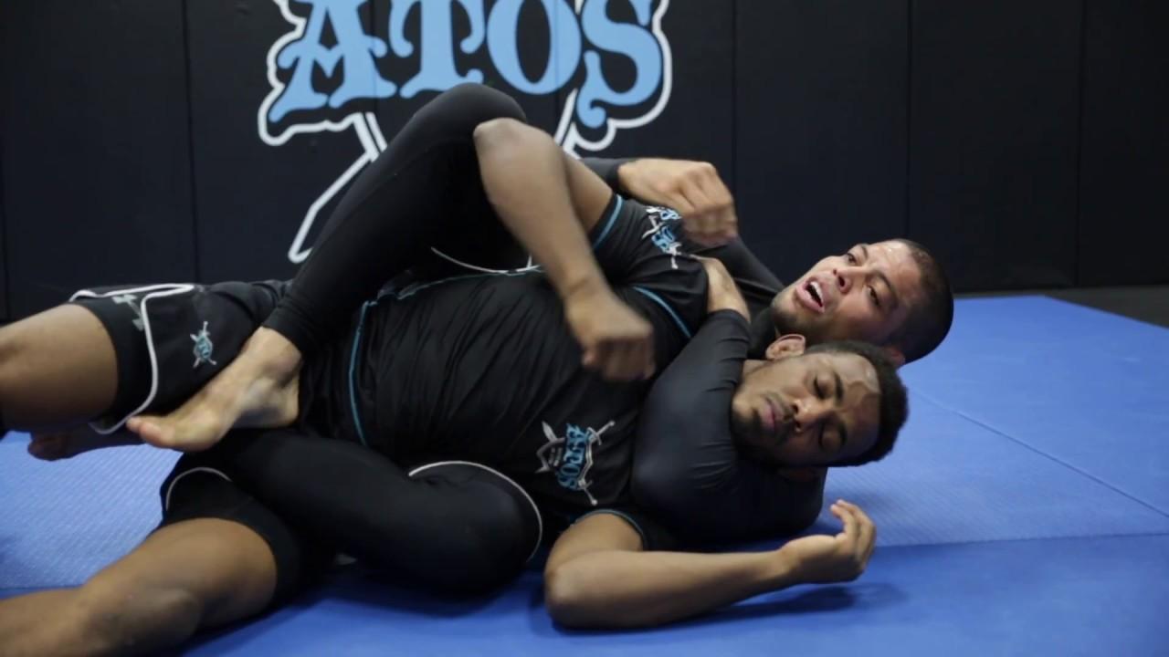 Atos jiu jitsu BACK TAKE!!! MUST SEE!! Andre Galvao