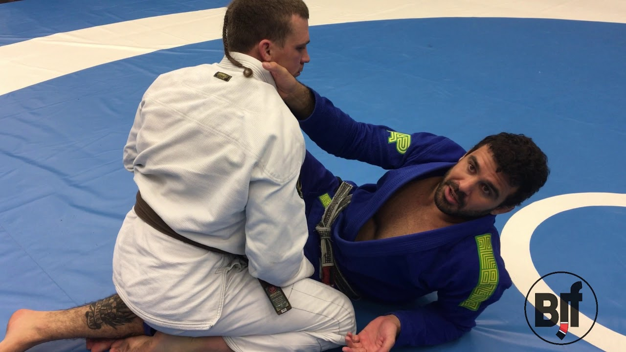 Back take from sitting guard – Rodrigo Teixeira