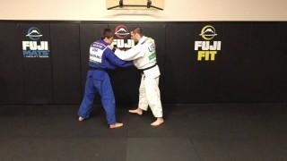 Breaking a Stiff Arm to Set Up Kosoto Gake- Travis Stevens