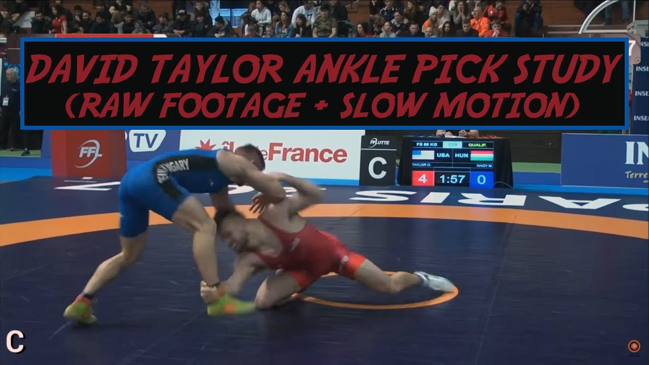 David Taylor Ankle Pick Study Supplement (Raw Footage + Slow Motion)