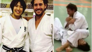 Judoka Flávio Canto shows His World Class Ground Game with Judo Champion in Japan