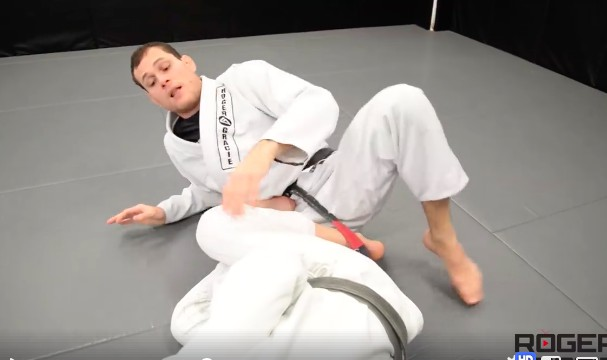 Roger Gracie's Huge Detail For Defending The Straight Footlock