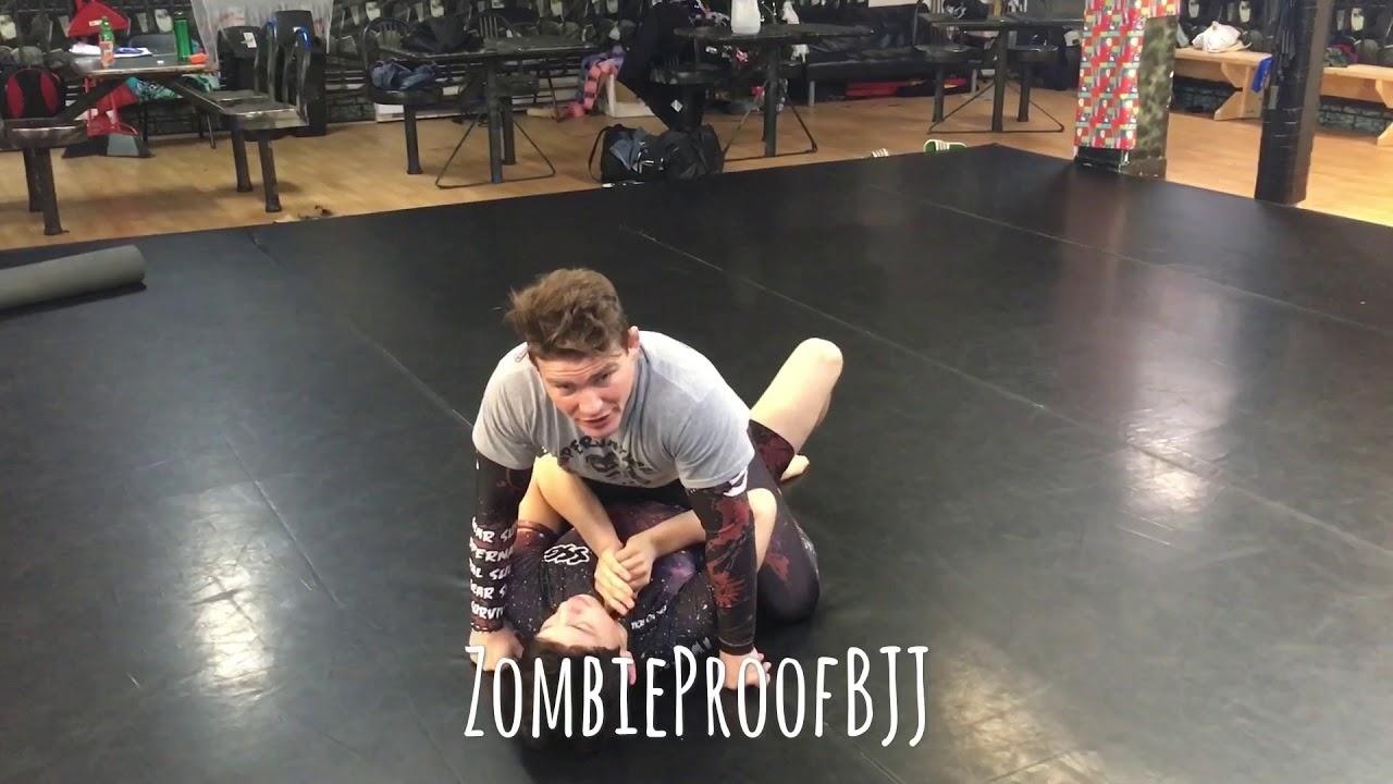 Guillotine Choke From Mount – ZombieProofBJJ