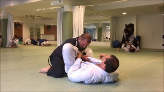 Jiu-Jitsu roll between Ralph and Roger Gracie