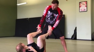 Jiu-Jitsu Guard Passing for No Rules Situations
