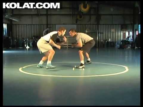 Reaction Drills: Ducking Under Collar Tie Drill- Cary Kolat
