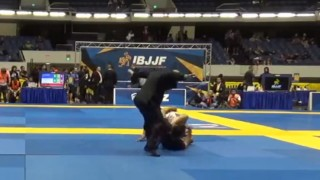 Black Belt Goes In For A Heel Hook At IBJJF NoGI Worlds: Screw The Rules