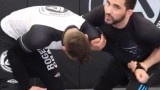 Wrestling Using the Russian Tie to hit a Super Clean Fireman Carry Throw in BJJ