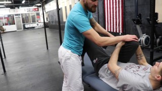 Try this to relieve hip pain and improve guard retention for BJJ
