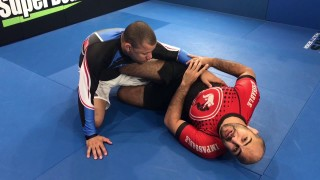2 on 1 from Knee Shield by Bernardo Faria