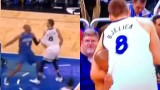 Serbian Basketball Player Bjelica Headlocks NBA Player Who Attacked Him