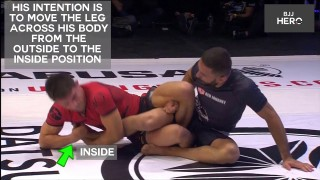 BJJ Quick Study – Garry Tonon Re-Roll to Heel Hook Finish