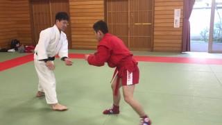Clash of Styles: Judoka and Sambist Grapple