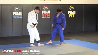 Double Tap Foot Sweep – Jack Hatton