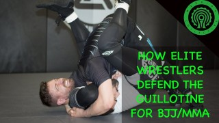 How Elite Wrestlers defend the Guillotine for BJJ / MMA