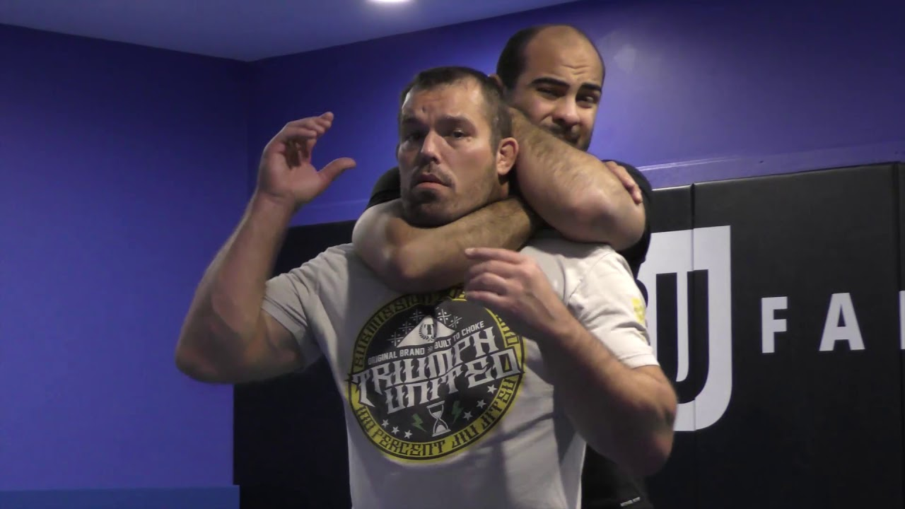 How to Handle Rear Naked Chokes by Dean Lister