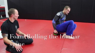 How to improve back pain from BJJ