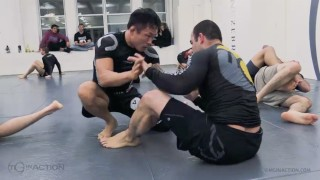 Marcelo Garcia Rolling With Korean Pitbull Doo Ho Choi