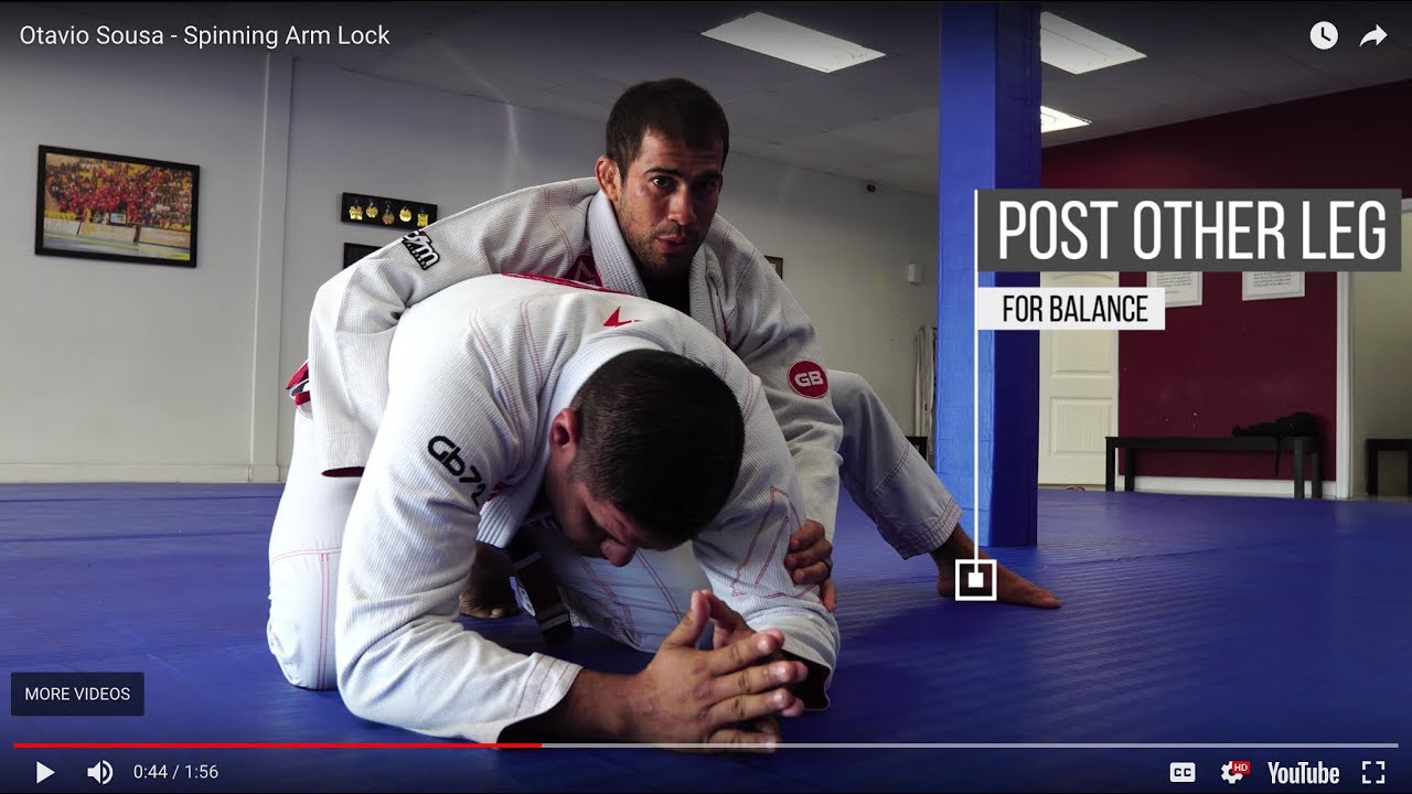 Otavio Sousa – Spinning Arm Lock