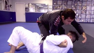 Pillow Triangle From Knee On Belly- Walter Cascao