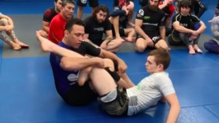 Renzo Gracie's Foot Lock Counter