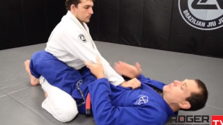How to break a strong guy's posture from closed guard – Roger Gracie