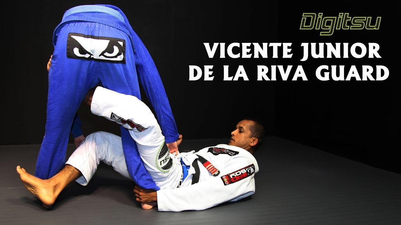 Simple De Le Riva Guard Sweep – Vicente Junior
