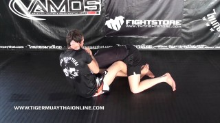 Telephone Lock From Butterfly Guard- Alex Vamos