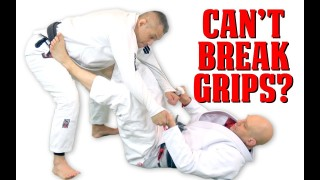 What To Do If You Just CAN'T Break Grips In The Guard