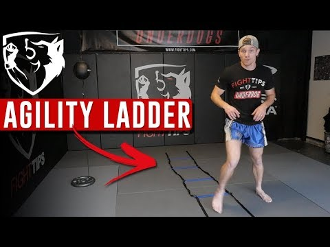 3 Agility Ladder Drills for Fighting Footwork