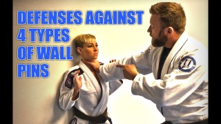 4 Defenses Against Wall Pins – Knight Jiu-Jitsu